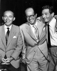 Bing Crosby, Phil Silvers & Danny Kaye