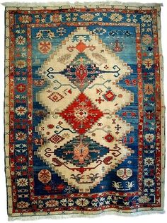 Turkish rug: I love love loove this one! Wish I could get it right away, and decorate my house or walls with it!