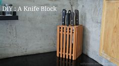 """There are Ikea hacks, but is there such a thing as a Daiso hack ? I was shopping for a knife block , all the while being """"frugal-minded"""" (aka cheap). I didn't like the solid wooden blocks because I..."""