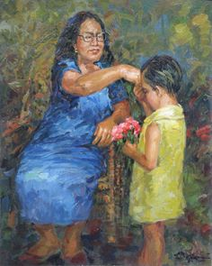 """ Mano Po ""as the younger ones do this, they took the oldest hand toward their forehead to show respect Filipino Art, Filipino Culture, Philippine Art, Philippines Culture, Different Kinds Of Art, Traditional Paintings, Artists Like, Beautiful Artwork, Artsy"