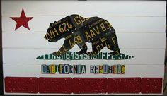 CA License plates