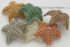 estrellas de mar en mostacillas
