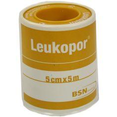 LEUKOPOR 5 cmx5 m:   Packungsinhalt: 1 St Pflaster PZN: 01698818 Hersteller: BSN medical GmbH Preis: 8,33 EUR inkl. 19 % MwSt. zzgl.…