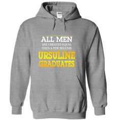 Ursuline College Graduates For Men - #tshirt print #hoodie refashion. LOWEST SHIPPING => https://www.sunfrog.com/Funny/Ursuline-College-Graduates-For-Men-SportsGrey-svkq-Hoodie.html?68278