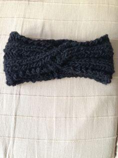 stirnband mit twist knitting stricken strickenmachtfreude selbstgemacht knittinglove. Black Bedroom Furniture Sets. Home Design Ideas