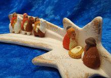 Following the Star Nativity Scene
