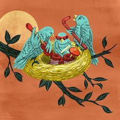 The Birds by Jawsh Smyth on Behance