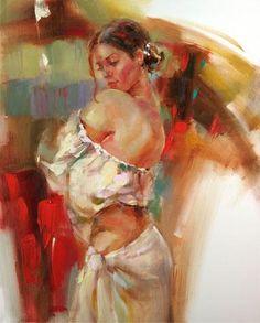 Anna Razumovskaya俄罗斯年轻女画家(2) - 守着肉骨头的狗 - 坚守着守望的博客