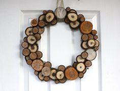 Rodaja madera corona a pedido Woodland rústico por SoftIndustry