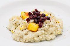 Mango Cardamom Quinoa Porridge