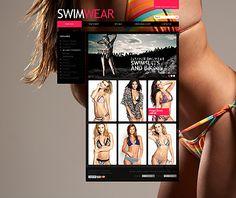 Swimwear Lingerie osCommerce Templates by Cowboy