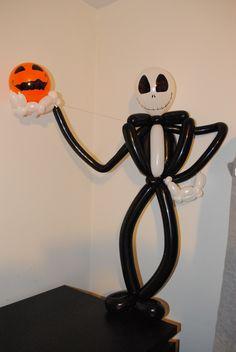 Jack Skellington Balloon, Tim Burton's Nightmare before Christmas