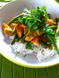 Green Bean & Tofu Curry – An Autumn Ayurvedic Diet Recipe