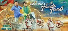 Gopala Gopala Telugu Movie Mp3 Full Songs, HQ Original CD Rips VBR 128KBPS, 320KBPS Pawan Kalyan and venkatesh Gopala Gopala Film Audio songs