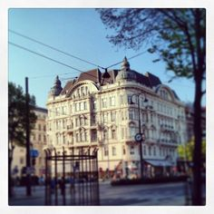 1. Bezirk #wien #vienna Stubentor. #outdoors #spring #sky #instamood #urban #city