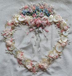 silk ribbon embroidery border patterns -