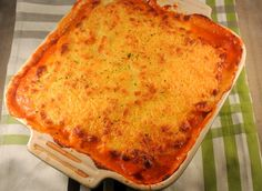 Aardappel lasagne