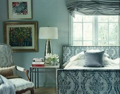 Blue on Blue by Mary Evelyn Interiors