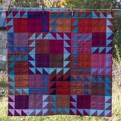 "266 Likes, 19 Comments - Lynn Carson Harris (@lynncarsonharris) on Instagram: ""This quilt I made in 2012 from @oakshottfabrics cottons is one of my #flickrfaves. It is ""most…"""