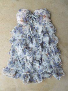 Ruffled Bonnes Dress