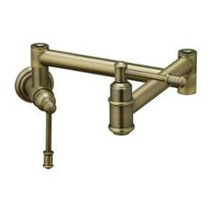 Check out the Elkay LK4101 Oldare Double Lever Brass Pot Filler Faucet priced at $572.65 at Homeclick.com.