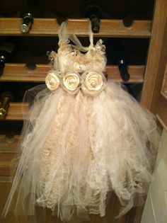 TuTu Flower girl dress  on Etsy, $100.00