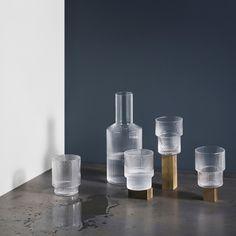 Ripple glass – sett med 4 | OsloDeco