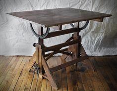 Vintage Drafting Table..... I LOVE mine!!!