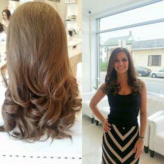 Silky curls that shine!