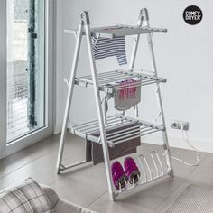 COMFY DRYER COMPAK HEATED CLOTHES AIRER