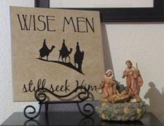 LDS Vinyl Wall Art - Wise men still seek him    #LDSartwork #DailyLDS