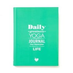 Daily Greatness Yoga Journal   planner voor yogi #journal #planner #dailygreatness #plannen #yoga