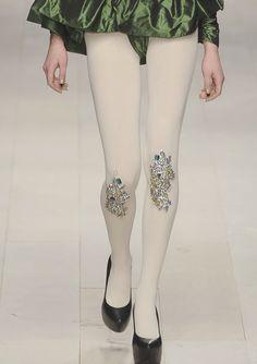 whimsical sparkling stockings!