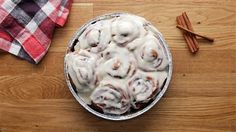 These homemade cinnamon rolls are what dreams are made of