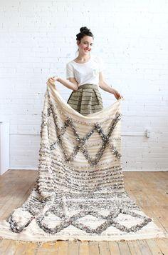 Handira wedding blanket, Baba Souk