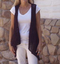 Ravelry: Seine Vest pattern by Susan Venable