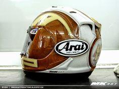 Racing Helmets Garage: Arai RX-GP A.Pons Catalunya 2014 by urydesigns - painted by MK Art Productions