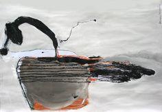"Saatchi Online Artist: Aleksandra Toborowicz; Mixed Media, 2006, Painting ""Untitled"" #art #painting #sztuka #malarstwo #obraz $1600"