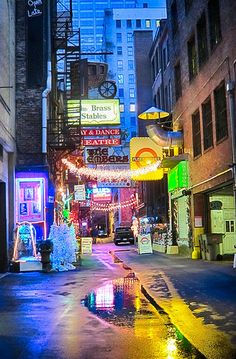 World Famous Printers Alley ~ Nashville, TN