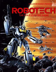 This is probably the game I wish was way better than it was.  I am not a Palladium fan but I am a huge Robotech fan.