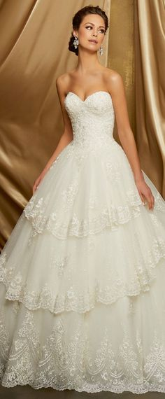 Amazing Tulle Sweetheart Neckline A Line Wedding Dress With Beaded Lace Liques Cly