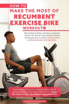 Recumbent bikes offer extra support for an effective cardiovascular workout and are amazing for challenging users of all fitness levels in a safe way. In this article, learn everything you need to know about recumbent exercise bikes and how to make the most of your recumbent bike workouts. #sunnyhealthfitness #recumbentbike #recumbentexercisebike #indoorbike