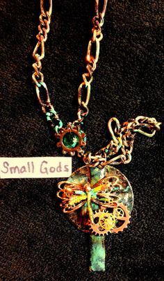 #steampunk #jewelry #imadethis