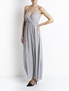 VIMASK - MAXI DRESS, Black Iris