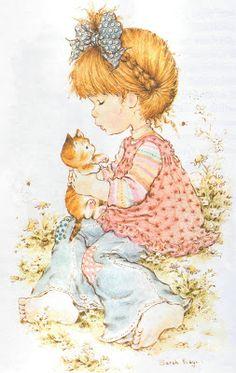 28 Ideas for basket illustration sarah kay Sarah Key, Holly Hobbie, Mary May, Hobbies To Try, Dibujos Cute, Hobby Horse, Australian Artists, Vintage Cards, Cute Illustration