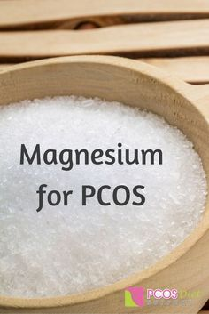 Magnesium is such an important supplement for PCOS. Here is what you need to know...