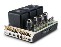 The MC275 vacuum tube amplifier has all the features to meet the needs of today's music enthusiast while preserving the qualities that have made it the most revered McIntosh tube amplifier of all time.