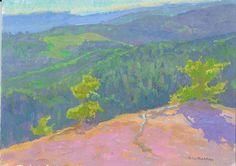 Maynard Dixon Country Plein Air Painting Dan Pinkham