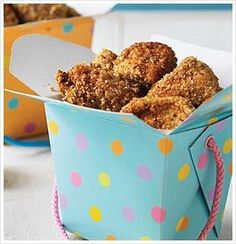 Tosca Reno's eat clean chicken nuggets