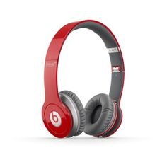Amazon.com: Beats Solo HD RED Edition On-Ear Headphones (Discontinued by Manufacturer): Electronics